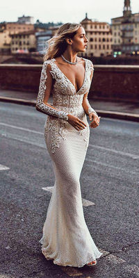 You can enjoy the best designer wedding dresses in different styles and colors!