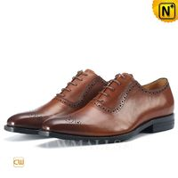 CWMALLS® Leather Lace-up Oxfords for Men CW707081 [Global Free Shipping]