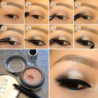 Hi-Lustre Smokey Eye Tutorial with Stila Magnificent Metals Supplies listed in comments: http://www.reddit.com/r/BeautyDiagrams/comments/2093ou/hilustre smokey eye tutorial with stila/