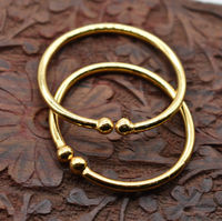 one gram gold plated openable bangles or kada for new born babies $124.00
