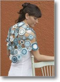 Stunning blue coverup pattern - $5.50
