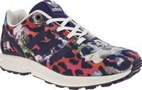Adidas Multi Zx Flux Girls Youth Little feet can bloom in style as the adidas ZX Flux gets downsized for kids. The colourfully printed man-made trainer features floral details and animal-inspired accents providing a touch of interest http://www.comparesto...