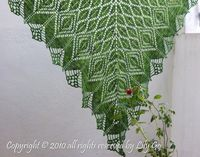 Gathering Leaves Crocheted Shawl in PDF File. $6.00, via Etsy.