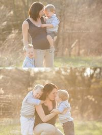 Maternity Pictures with Kids | Quad Cities Maternity Photographer