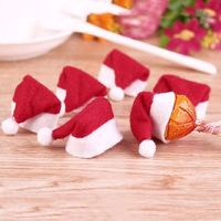 Pack of 10 Xmas Hats. Santa Decorations. £3.19