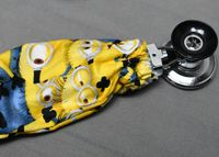 Stethoscope Cover - Minions Yellow $7.99