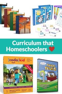 This list of top, back to homeschool curriculum have approved by thousands of homeschoolers. Learn more about comprehensive, science, and art curricula.