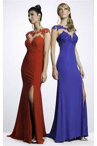 Timeless Sheath Jersey Zipper Floor-length Prom Dresses