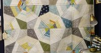 Quilt Market 2015 - Lori Kennedy's photo of a Jennifer Sampou quilt