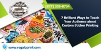 """Custom Stickers Printing""