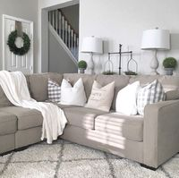 Farmhouse living room from