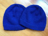 Basic Knitted Cap Pattern