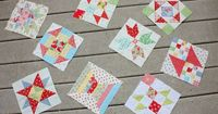 Being the 25th of the month, there is a new, free quilt block tutorial in the Block of the Month series over at Jackie's blog, Canton Village Quilt Works. This