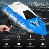 JJRC S5 Baby Shark 1/47 2.4G Electric Rc Boat with Dual Motor Racing RTR Ship Model