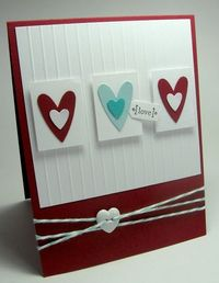 stamping up north: Valentine scrap card