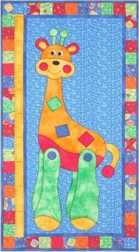 Small To Tall - by Kids Quilts - Wall Quilt Pattern - $12.00 : Fabric Patch, Patchwork Quilting fabrics, Moda fabric, Quilt Supplies, Patterns