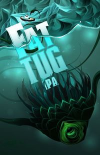 Here's to another successful beer design from Hired Guns Creative! Bringing the extraordinary underwater water into the hands of the masses, Fat Tug narrates a