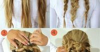 Hairstyle tutorials for Christmas! See on http://pinmakeuptips.com/our-special-christmas-delivery-the-best-holiday-hairstyles/