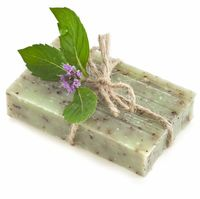Fresh picked mild peppermint Organic soap $7.99