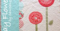 May Flowers--tutorial from the moda bakeshop