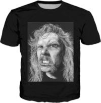 The Master Classic Black T-Shirt $30.00