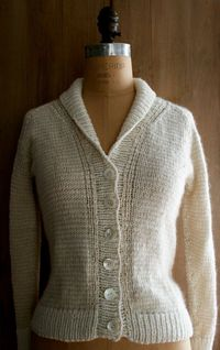 New Treeline Striped Cardigan - The Purl Bee - Knitting Crochet Sewing Embroidery Crafts Patterns and Ideas!