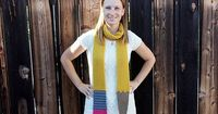 Ravelry: Sinuous Pencil Scarf pattern by Alice Humbracht