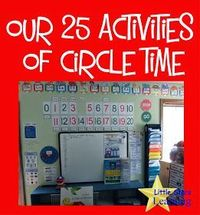 Many providers have been asking about Circle Time routines. Ours is pretty involved, but we do NOT do everything every day . It depends upon...