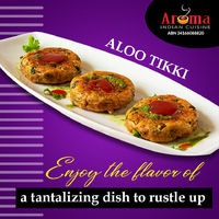 Enjoy the flavour of a tantalizing dish to rustle up! Pickup / Delivery on http://www.aromaindian.com.au/