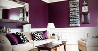 Love the deep purple, this would be great in a baby girl's nursery. Not the original pink but still so feminine
