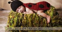Ravelry: PDF Pattern - The Lady Bug outfit for newborn baby - Photo Prop pattern by Elena Dankova