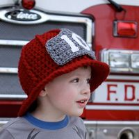 Crochet Firefighter helmet pattern
