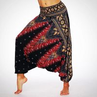 Ladies pretty Patterned Casual Yoga Pants $23.99