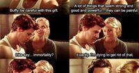Buffy & Angel - One of my favorite scenes from Buffy the Vampire Slayer