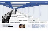 Droste Effect Facebook Timeline Cover Artwork by RICHARD KARSTROM   With Facebook's recent introduction of Timeline, users have begun to utilize their newfound real estate in funny and creative ways. Below is collection of the 25 funniest and mo...