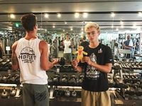 Jack & Jack working out