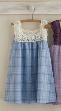 Inspiration to crochet - Grannies for girl dresses �™�