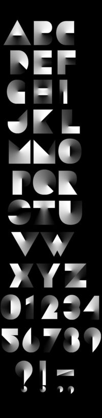 Angle Typeface