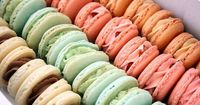 so pretty and sooooo trendy. we can do macaroons in almost any flavor. I think i want you wedding to be french themed
