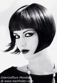 Why do I like these styles? They don't look good on me. Short bob
