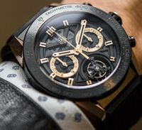 Review TAG Heuer Carrera Heuer-02T Tourbillon Chronograph Watch