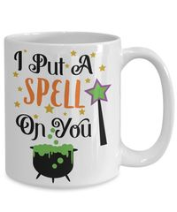 25% off Sale I put a spell on you halloween $15.95