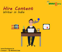 Hire Content Writer in India Hire Dedicated Content Writer Professionals at an affordable cost. We have a pool of expert content writers and offer quality content writing services in India https://brainguru.in/services/hire-content-writer-expert-profess...