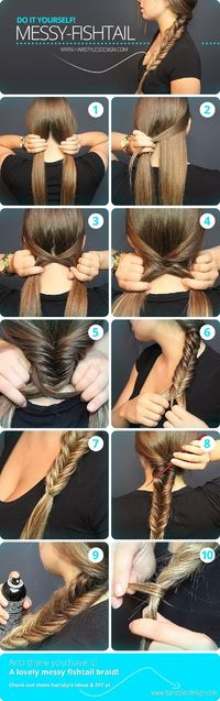 Messy Fishtail Braid...