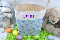 Easter Basket - Mermaid Scales $17.00