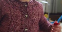 Ravelry: Heartrose Cardigan pattern by Leah B. Thibault