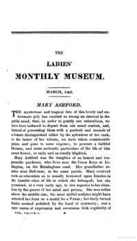 Ashford v. Thornton - The Ladies' Monthly Museum March, 1818