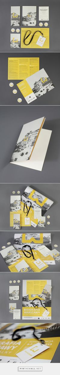 """WARSAW'S BIOGRAPHY CONFERENCE on Behance 