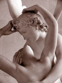 I fell in love with this spectacular sculpture by Antonio Canova, whose full title is Psyché ranimée par le baiser de l'Amour. Visit my website: www.jenstlouisp