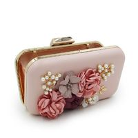 Women Flower Party Clutch Purse / Evening Bag $43.18